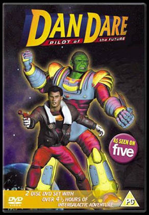 "The Dan Dare TV series ""Best of"" DVD"