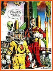 "Click here to go to my Dan Dare ""Jigsaw Number 3"" page (Java Applet powered)"