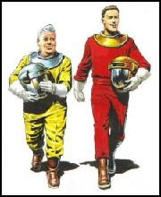 Click here to go to Barbara Kerschner's and Steven Taylor's Dan Dare and Space website