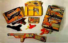 Click here to go to Justin Pinchot's Toy Rayguns website