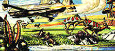 Click here to go to Wakefield Carter's Dan Dare, Eagle and 2000AD website